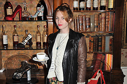 Josephine De La Baume at a screening of Charlotte Olympia's new film 'To Die For' held at Mark's Club, Charles Street, London W1 on 22nd February 2011.