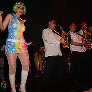 Dance Factory performing at the Disco Fever Stage during Indulgence New Year's Eve Bash 2010 at EMP/SFM.