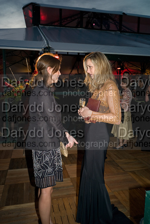 ARABELLA MUSGRAVE; MRS. HARRY LAWSON-JOHNSTON, Royal Parks Foundation Summer party. Gala evening, sponsored by Candy & Candy on behalf of One Hyde Park. Hyde Park. London. 10 September 2008 *** Local Caption *** -DO NOT ARCHIVE-© Copyright Photograph by Dafydd Jones. 248 Clapham Rd. London SW9 0PZ. Tel 0207 820 0771. www.dafjones.com.