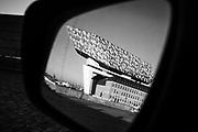Antwerp, Belgium, 17 nov 2018, The River... Architect  Zaha Hadid constructed the new Antwerp Port house.