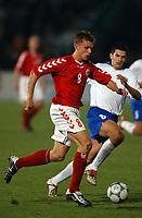 Fotball<br /> Kvalifisering til EM 2004<br /> 11.10.2003<br /> Bosnia v Danmark 1-1<br /> Norway Only<br /> Foto: Digitalsport<br /> <br /> Jesper Grønkjær