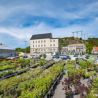 Gamle Lund trafostasjon i Kristiansand. Anno 1920 stod det på fasaden tidligere. Ble revet sommeren 2018 for et nytt leilighetsbygg.