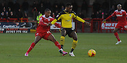 Crawley Town v Colchester United 281214