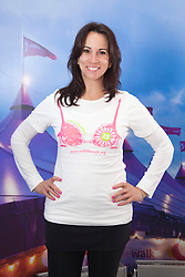 """© Licensed to London News Pictures. 12/05/2012. London, England. Pictured: Andrea McLean of Loose Women fame. The MoonWalk London 2012, Celebrating 15 years of Moon Walking for the breast cancer charity """"Walk the Walk"""". Photo credit: Bettina Strenske/LNP"""