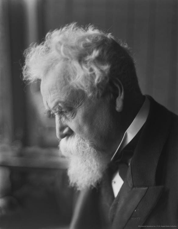 Hiram Maxim, Sir, engineer and inventor of the machine gun, 1912
