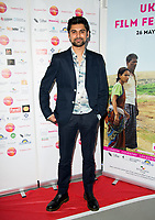 Antonio Aakeel  Arriving for the screening of Granada Heights, UK Asian Film Festival, hosted at Rich Mix Shoreditch London photo by Terry Scott