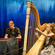 WASHINGTON, DC - December 10th, 2015 - Pete Newsom and Joanna Newsom perform at the Lincoln Theatre in Washington, D.C. (Photo By Kyle Gustafson / For The Washington Post)