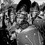 Roman guards, Brisbane, Australia (June 2003)