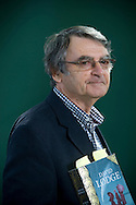 Bestselling British author David Lodge, pictured at the Edinburgh International Book Festival where he talked about his latest book entitled 'A Man of Parts'. The three-week event is the world's biggest literary festival and is held during the annual Edinburgh Festival. The 2011 event featured talks and presentations by more than 500 authors from around the world..