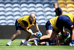 Michael Heaney of Worcester Warriors during training ahead of the Gallagher Premiership fixture against Harlequins - Mandatory by-line: Robbie Stephenson/JMP - 24/08/2020 - RUGBY - Sixways Stadium - Worcester, England - Worcester Warriors Training