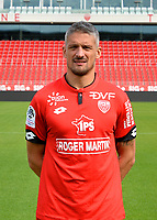 Cedric VARRAULT during photoshooting of Dijon FCO for new season 2017/2018 on September 11, 2017 in Dijon, France. (Photo by Vincent Poyer/Icon Sport)