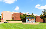 Marquee at Orange High School