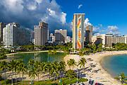 Hilton Hawaiian Village, Waikiki Beach, Honolulu, Oahu, Hawaii, USA