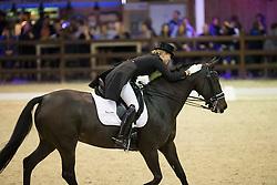 Barbancon Mestre Morgan, (ESP), Vitana V<br /> Grand Prix Freestyle Test<br /> CDI 4* Azelhof Lier 2015<br /> © Hippo Foto - Leanjo de Koster