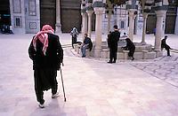 Syrie - Damas - Mosquée des omeyyades<br /> Damascus