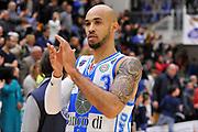 DESCRIZIONE : Campionato 2014/15 Dinamo Banco di Sardegna Sassari - Olimpia EA7 Emporio Armani Milano<br /> GIOCATORE : David Logan<br /> CATEGORIA : Postgame Ritratto Delusione<br /> SQUADRA : Dinamo Banco di Sardegna Sassari<br /> EVENTO : LegaBasket Serie A Beko 2014/2015<br /> GARA : Dinamo Banco di Sardegna Sassari - Olimpia EA7 Emporio Armani Milano<br /> DATA : 07/12/2014<br /> SPORT : Pallacanestro <br /> AUTORE : Agenzia Ciamillo-Castoria / Claudio Atzori<br /> Galleria : LegaBasket Serie A Beko 2014/2015<br /> Fotonotizia : Campionato 2014/15 Dinamo Banco di Sardegna Sassari - Olimpia EA7 Emporio Armani Milano<br /> Predefinita :