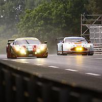 #71 Ferrari 458 Italia, #98 Aston Martin Vantage GTE, GTE PRO, Le Mans 24H 2013