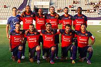 FOOTBALL - FRENCH CHAMPIONSHIP 2012/2013 - FC ISTRES v GFC AJACCIO  - 3/08/2012 - PHOTO PHILIPPE LAURENSON / DPPI - GFC AJACCIO TEAM