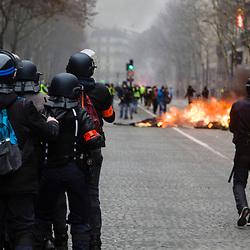 2018/12 Gilets Jaunes Paris Acte 4
