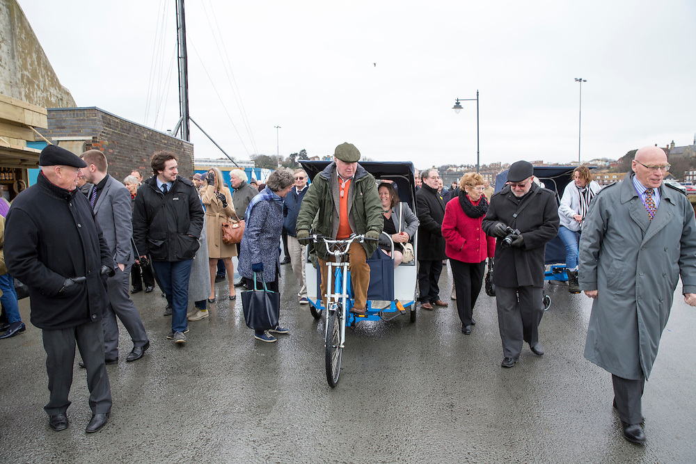 The 2016 official opening  and launch of the Folkestone Harbour Arm, Folkestone, Kent.