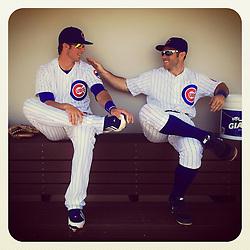 Kris Bryant and Matt Szczur, 2014