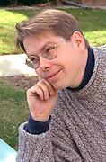 Portrait of a contented man age 30.  St Paul Minnesota USA