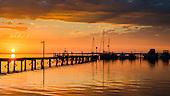 Port Stephens Fishing Sunset