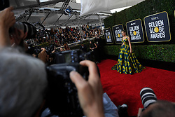 January 5, 2020, Beverly Hills, California, USA: TAYLOR SWIFT during red carpet arrivals for the 77th Annual Golden Globe Awards, at The Beverly Hilton Hotel. (Credit Image: © Kevin Sullivan via ZUMA Wire)