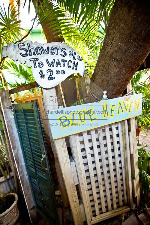 Blue Heaven restaurant and cafe Key West, Florida.