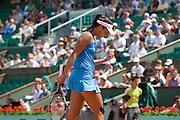 Paris, France. May 24th 2009. .Roland Garros - Tennis French Open. 1st Round..Serbian player Ana Ivanovic against Sara Errani..