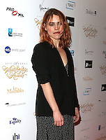 Billie Piper, WhatsOnStage Awards, Prince of Wales Theatre, London UK, 19 February 2017, Photo by Richard Goldschmidt