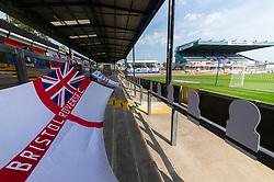 Flags at the Memorial Stadium - Mandatory by-line: Dougie Allward/JMP - 19/09/2020 - FOOTBALL - Memorial Stadium - Bristol, England - Bristol Rovers v Ipswich Town - Sky Bet League One