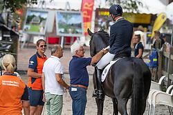 Veeze Bart, Driessen Theo, breeder, Imposantos<br /> World ChampionshipsYoung Dressage Horses<br /> Ermelo 2018<br /> © Hippo Foto - Dirk Caremans<br /> 04/08/2018