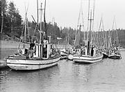 "9808-A20.  ""Boats. Newport"" Oregon, about 1920"