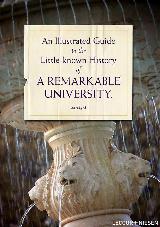 Viewbook for University of North Alabama, Florence, Ala. Design by Mindpower, Inc. (www.mindpowerinc.com)