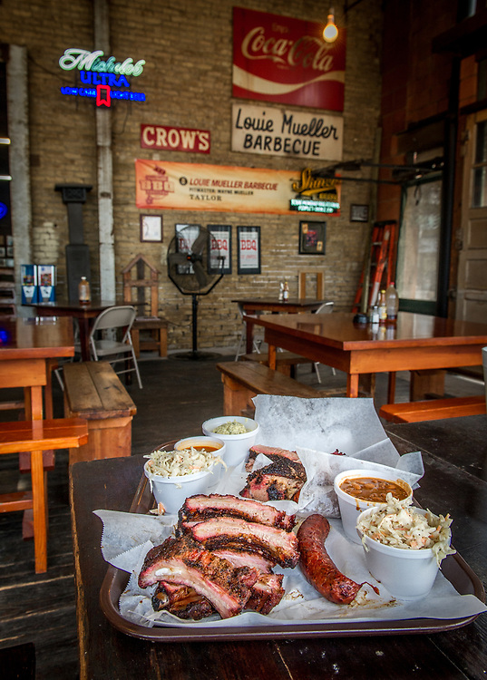 Louie Mueller Barbecue in Taylor, Texas