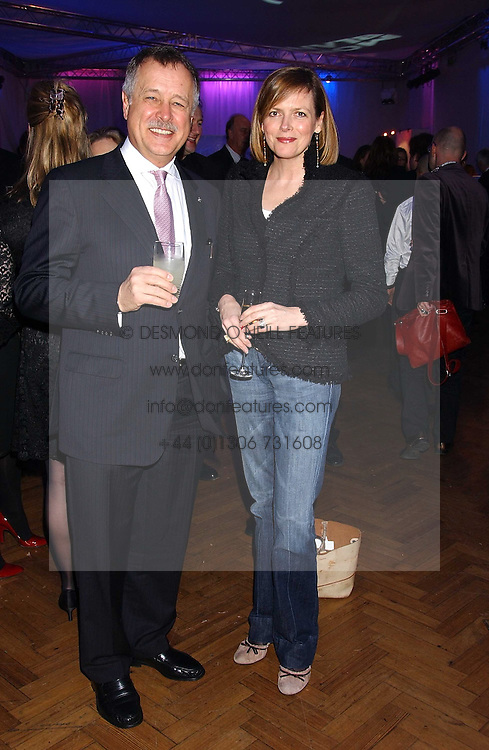 WOLFF HEINRICHSDORFF CEO Montblanc International and the COUNTESS OF WOOLTON at a party to celebrate the centenary of Montblanc held at Lindley Hall, Elverton Street, London SW1 on 9th March 2006.<br /><br />NON EXCLUSIVE - WORLD RIGHTS