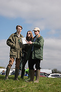 TAVISH STRUTHERS; COCO BROOKS; HARRY ARKWRIGHT, Heythrop Point to Point, Cocklebarrow, 2 April 2017.