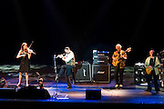 Belo Horizonte_MG, Brasil...Apresentacao da banda britanica Jethro Tull em Belo Horizonte, na foto Ian Anderson, Martin Barre e David Goodier...Presentation of the British band Jethro Tull in Belo Horizonte, Ian Anderson, Martin Barre and David Goodier in the photo...FOTO: BRUNO MAGALHAES / NITRO
