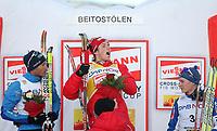 "Ski ""Viessmann"" Cross Country Fis World Cup , <br /> Men  15 km Free Individual <br /> langrenn , <br /> Beitostølen , Norway<br /> 21.11.09<br /> <br /> Foto: Dagfinn Limoseth , Digitalsport<br /> Ronny André Hafsaas , NOR (1) , Vincent Vittoz , FRA (2) , Matti Heikkinen , FIN (3)"