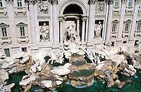 Italie - Latium - Rome - Fontaine de Trevi