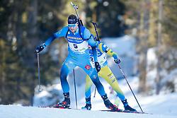 Emilien Jacquelin of France during the IBU World Championships Biathlon 20km Individual Men competition on February 17, 2021 in Pokljuka, Slovenia. Photo by Primoz Lovric / Sportida