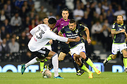 Liam Sercombe of Bristol Rovers is closed down by Marcelo of Fulham - Mandatory by-line: Dougie Allward/JMP - 22/08/2017 - FOOTBALL - Craven Cottage - Fulham, England - Fulham v Bristol Rovers - Carabao Cup