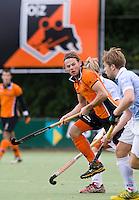 EINDHOVEN - hockey - Bob de Voogd van OZ  tijdens de hoofdklasse hockeywedstrijd tussen de mannen van Oranje-Zwart en Bloemendaal (3-3). COPYRIGHT KOEN SUYK
