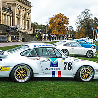 Porsche 993 GT2 (1995) at Rennsport Collective at Stowe House, Buckinghamshire, UK, on 1 November 2020