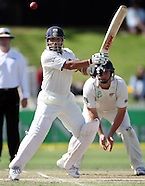 NZ v India cricket