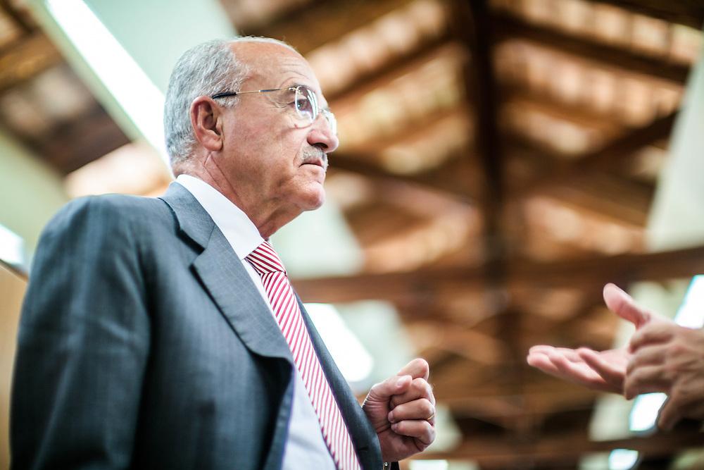 20 SEP 2011 - Spresiano (TV) - Fassa Bortolo, materiali per l'edilizia. Paolo Fassa, presidente