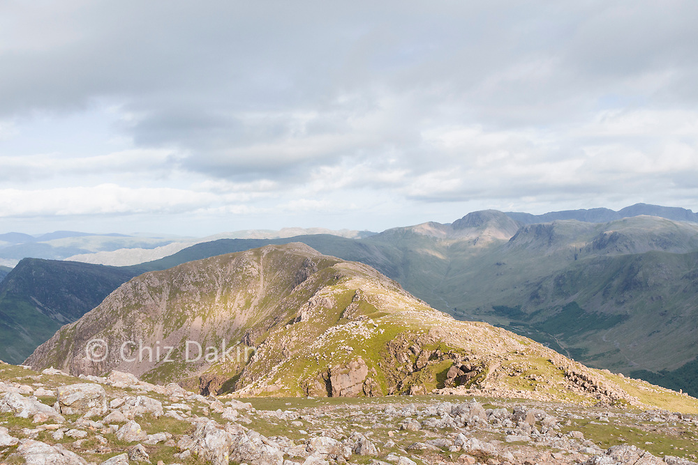 Looking back along the High Crag ridge from High Stile