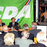 Minister Maria van der Hoeven spreekt op CDA bijeenkomst Huizen