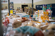 Food and household supplies are distributed from the Pillsbury United Communities food shelf at Waite House Neighborhood Center in Minneapolis, Minnesota, U.S., on Friday, July 24, 2020. Photographer: Ben Brewer/Bloomberg